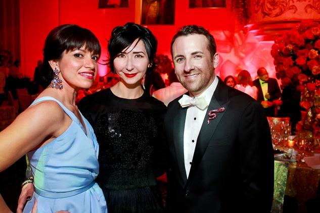 205 Sandra Manela, from left, Carrie Brandsberg-Dahl and Jeremy Garcia Houston Grand Opera Ball April 2015