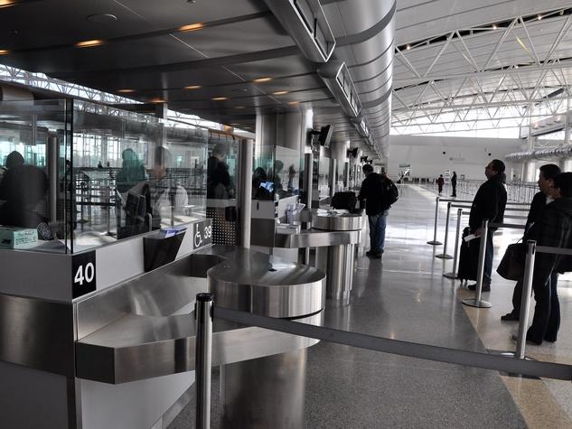 IAH fast lane, airport, OneStop launch, November 2012