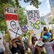 Photo of GMO protesters in Dallas