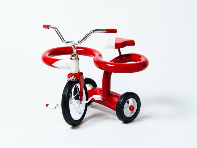 Sergio Garcia tricycle