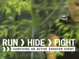 Run Hide Fight_City of Houston PSA_shooting