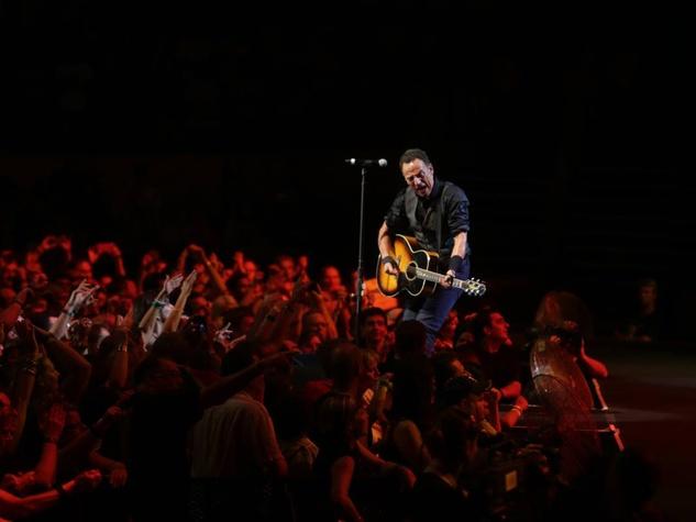 Bruce Springsteen in concert February 2014