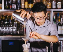 Bartender Andrew Stofko of Victor Tangos in Dallas
