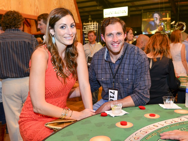 23 Hilary Sealy and Patrick Burch at the Cattle Barons Ball April 2014