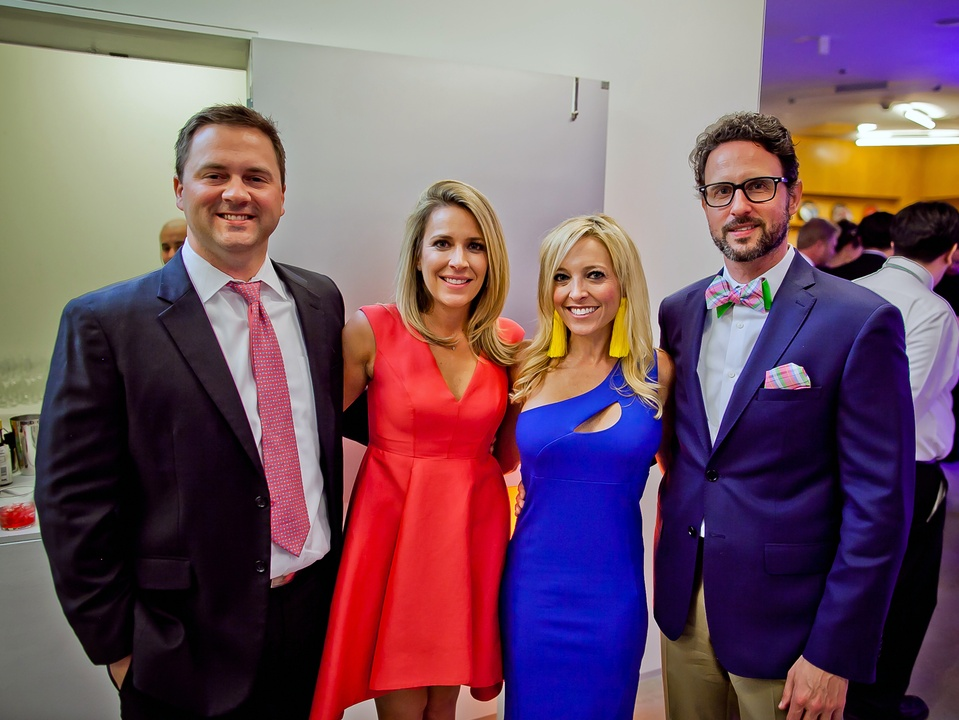 Houston, Blaffer Art Museum Color Splash Gala, April 2017, Houston, Blaffer Art Museum Color Splash Gala, April 2017, Tommy Jackson Elin Jackson, Amee McInnes, Jason Presley