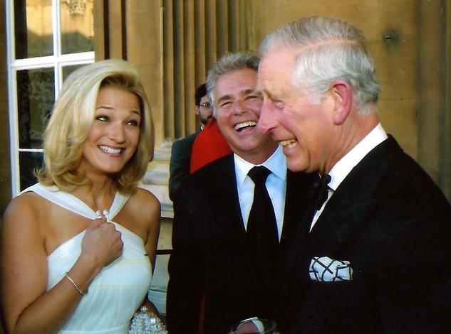 News, Shelby, Janine Sharell, Steve Tyrell, Prince Charles, August 2014