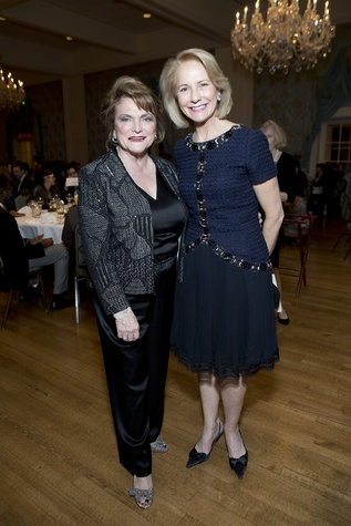 873 Beth Wolff, left, and Fran Fawcet Peterson at the Living Bank Gala October 2014