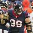 7 Texans vs. Bengals first half November 2014 J.J. Watt