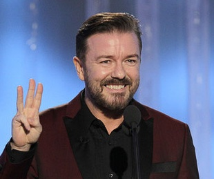 News_Golden Globes_January 2012_Ricky Gervais