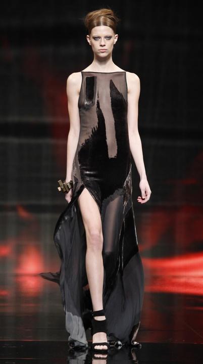 Donna Karan gown look 38 fall 2014