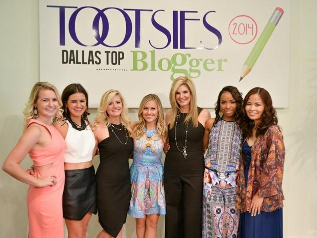 Janie Flowers, Ellen Flowers, Blaire Flowers Butler, Lauren Murphy, Tanya Foster, Kelley Barnes, Cristina Zaragoza, TOOTSies Top Blogger