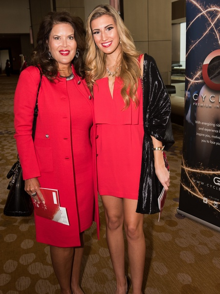 Kelly Pfeil, Madeline Sepcic, Go Red for Women 2018