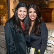 Kristy Bradshaw, left, and Maria Lowrey at the Abraham's Oriental Rug dinner September 2014