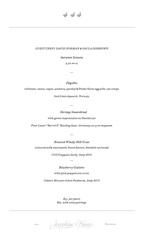 Guest Chef Series - Nordic Menu