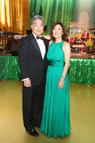 Willie and Linda Chiang at the Houston SPA Society for the Performing Arts Gala March 2015