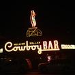 Jayme on Jackson Hole November 2013 Cowboy Bar