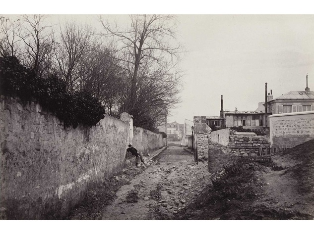 Charles Marville Photographer of Paris at MFAH June 2014 Avenue du Commandeur