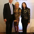 161 Bobby and Wezy, from left, with Sylvia Forsythe at Catwalk for a Cure November 2013