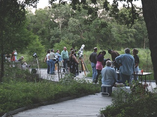 """Houston Arboretum and Nature Center hosts """"BBQ, Telescopes & A Night in the Woods"""""""