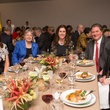 7 Doreen Stoller, from left, Kathrine McGovern, Phoebe Tudor, Jim Flores and Sara Dodd at the Hermann Park Centennial Gardens inaugural dinner October 2014.