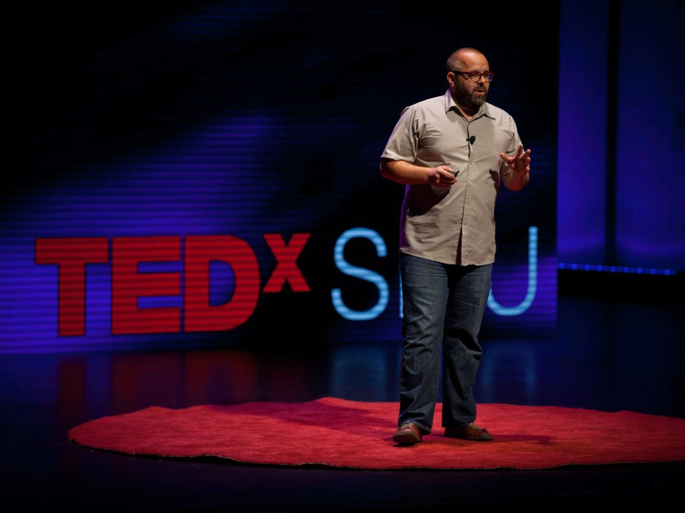 Andrew Sturm at TEDxSMU 2014