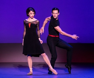 Sara Esty and Garen Scribner in An American in Paris