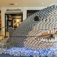 North Star Mall presents CANstruction