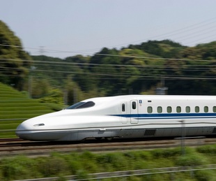 1 Texas Central Rail high-speed bullet train rail