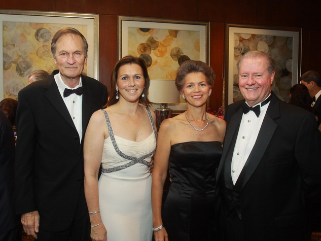 107 Fred and Donatella Benckenstein, from left, with Bain Pearson and John R. Pitts at the Big Brothers Big Sisters gala.