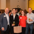Jeff Peden, from left, S.J. Swanson, Lauren Granello, Buddy McClung and Will Swanson at the PALS event June 2014