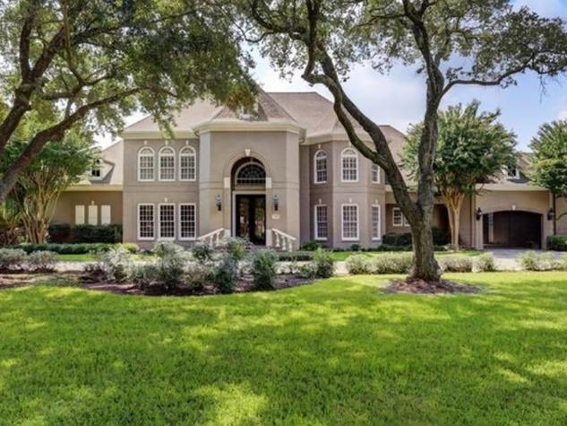 Astros $100 million man Carlos Lee sells Sugar Land mansion November 2014 front elevation