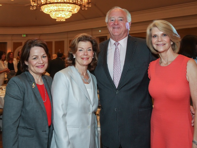 Ann Stiles, Kathryn Ketelsen, Dan and Kim Tutcher/Mayor's Literacy Breakfast