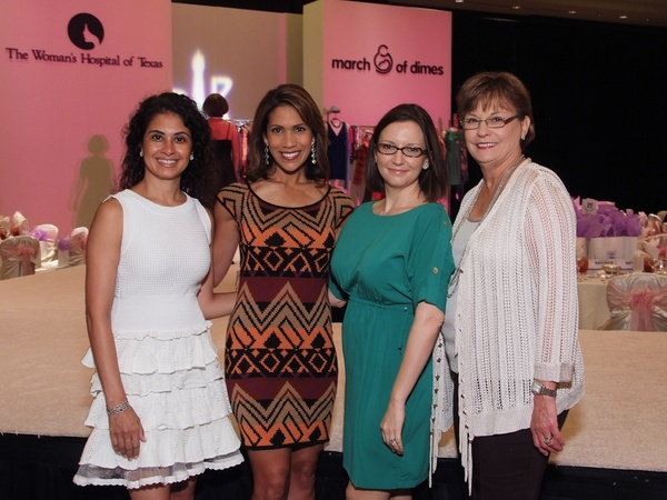 March of Dimes, Labor Day event, August 2012, Rishma Mohamed, Rachel McNeill, Darcie Champagne Wells, Linda Russell