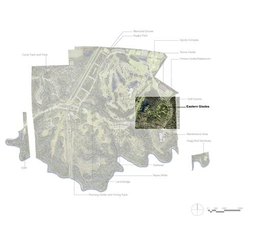 Eastern Glades rendering map