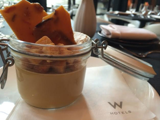 Pudding from TRACE The W Austin