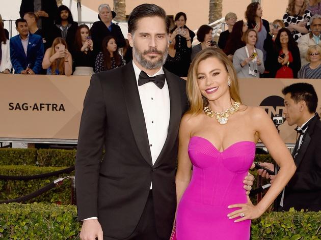 Joe Manganiello and Sofia Vergara at the Screen Actors Guild Awards