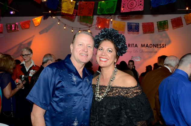 Center for Contemporary Craft, Margarita Madness, Jan. 2016, John & Frances Dyess