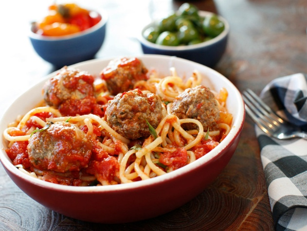 North Italia Spaghetti and meatballs