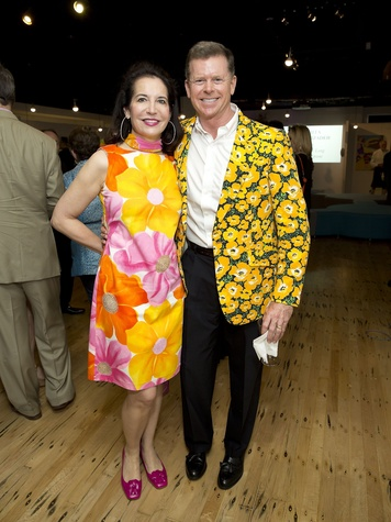 Glassell Benefit and Auction 2015 Janet and Harvin Moore