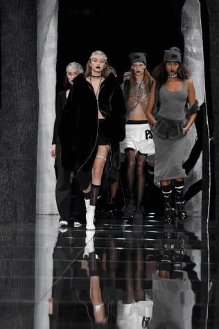 Rihanna Fenty x Puma show at New York Fashion Week