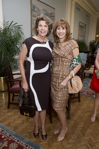 Lilly Andress, left, and Vicki West at the Small Steps Nurture & Nourish Luncheon September 2014