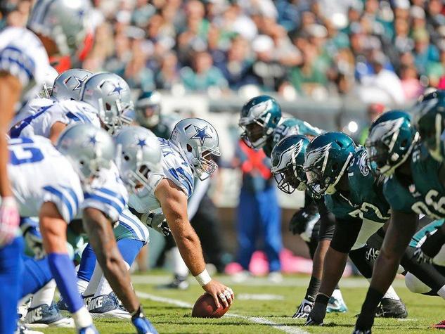 Dallas Cowboys versus Philadelphia Eagles