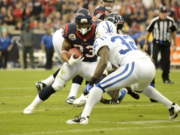Arian Foster Colts run