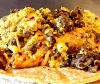 The Vegan Nom taco