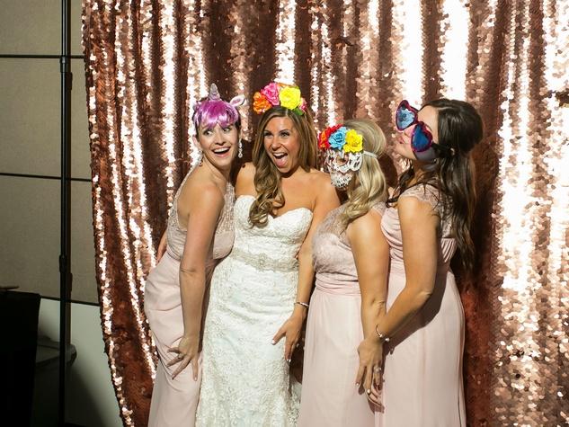 Aronson Wedding Photo Booth