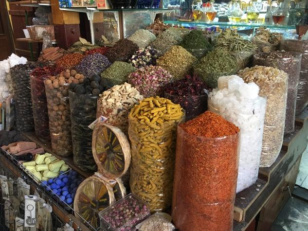 News, Shelby, Dubai spice market, January 2015