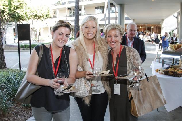 2761 Natalie Pipkin, from left, Sarahbeth Pipkin and Laura Pipkin at the Risotto Festival November 2013