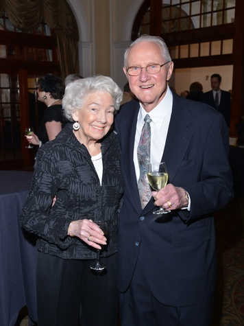 Martha and Marc Cuenod at the Houston Chamber Choir Gala April 2014