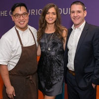 Centurion Lounge at IAH, Justin Yu, Sarah Frese, Chris Cracchiolo