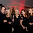 Coleen Ayres, Tula Carnahan, Dalal Murgai, Brenda McDuffy, Carl Stomberg at Woodlands fashion preview party